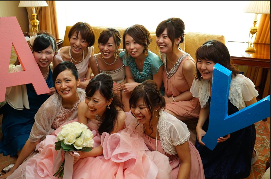 結婚式当日の披露宴スケジュール(リッツカールトン大阪スイートウエディング)
