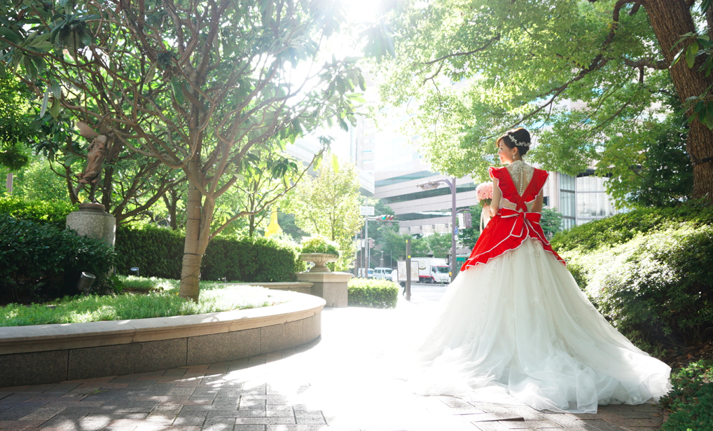 結婚式会場は梅田のリッツカールトン大阪(スイートルーム・ウエディング)